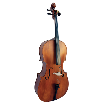 Vivo Student 4/4 Cello Outfit with Case